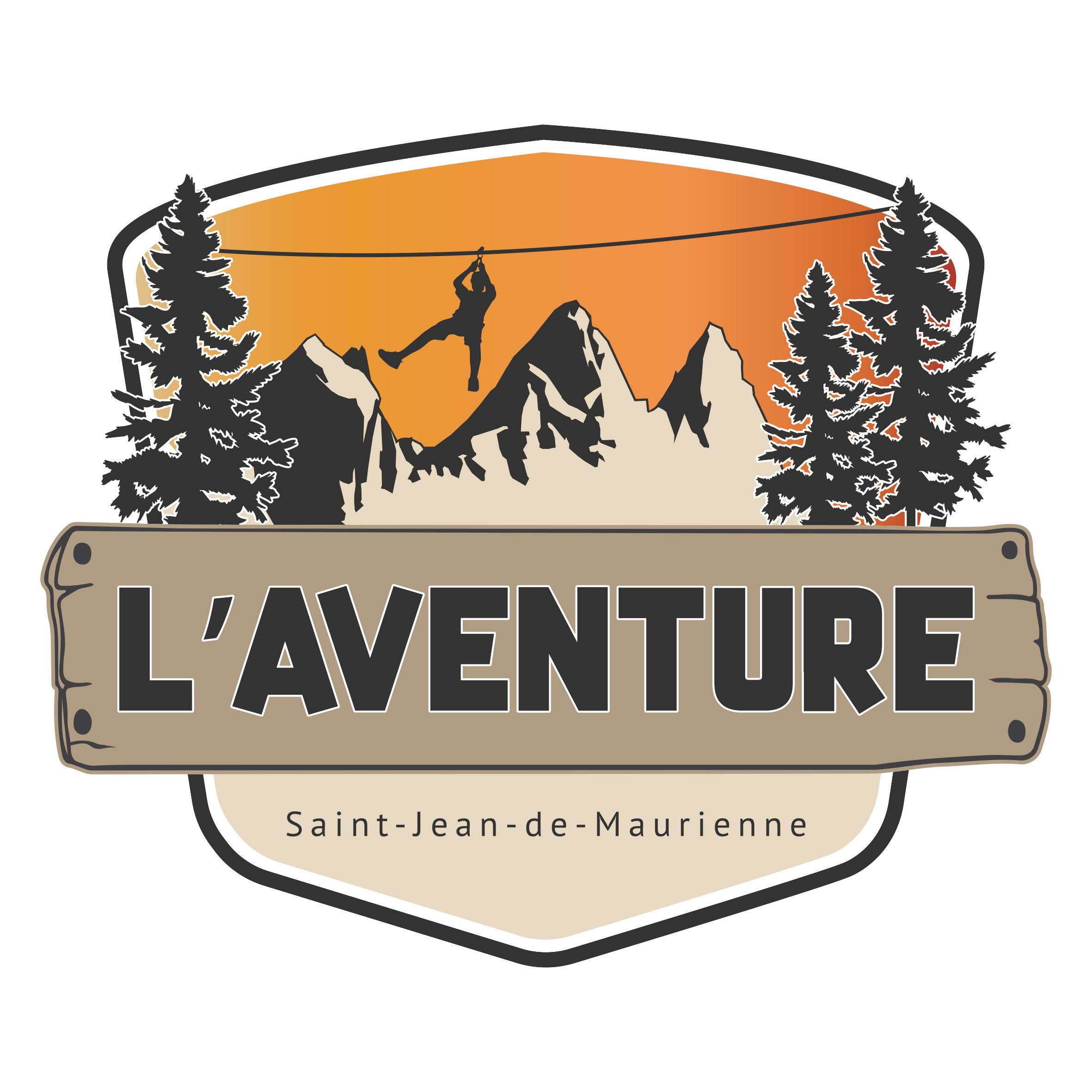 logo L'aventure fond blanc
