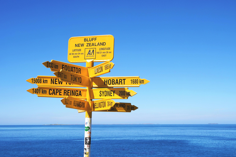 Bluff - New Zealand
