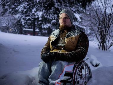 ROVOP Talvi pyörätuolissa