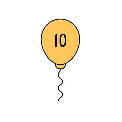 10 Patronen