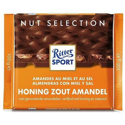 Ritter Sport Honing Zout Amandel