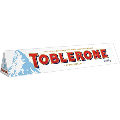 Toblerone Wit Honing Amandel