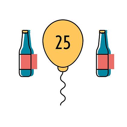 25 Patronen + Doos Ruhrgold