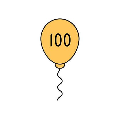 100 Patronen