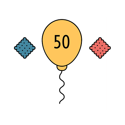 50 Patronen + Cracker