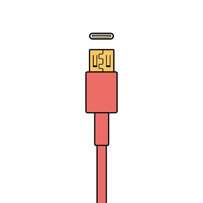 USB-C > USB