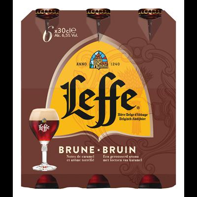 Sixpack Leffe Bruin
