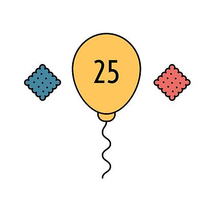 25 Patronen + Cracker