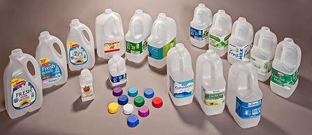 Plastic Dairy Bottles