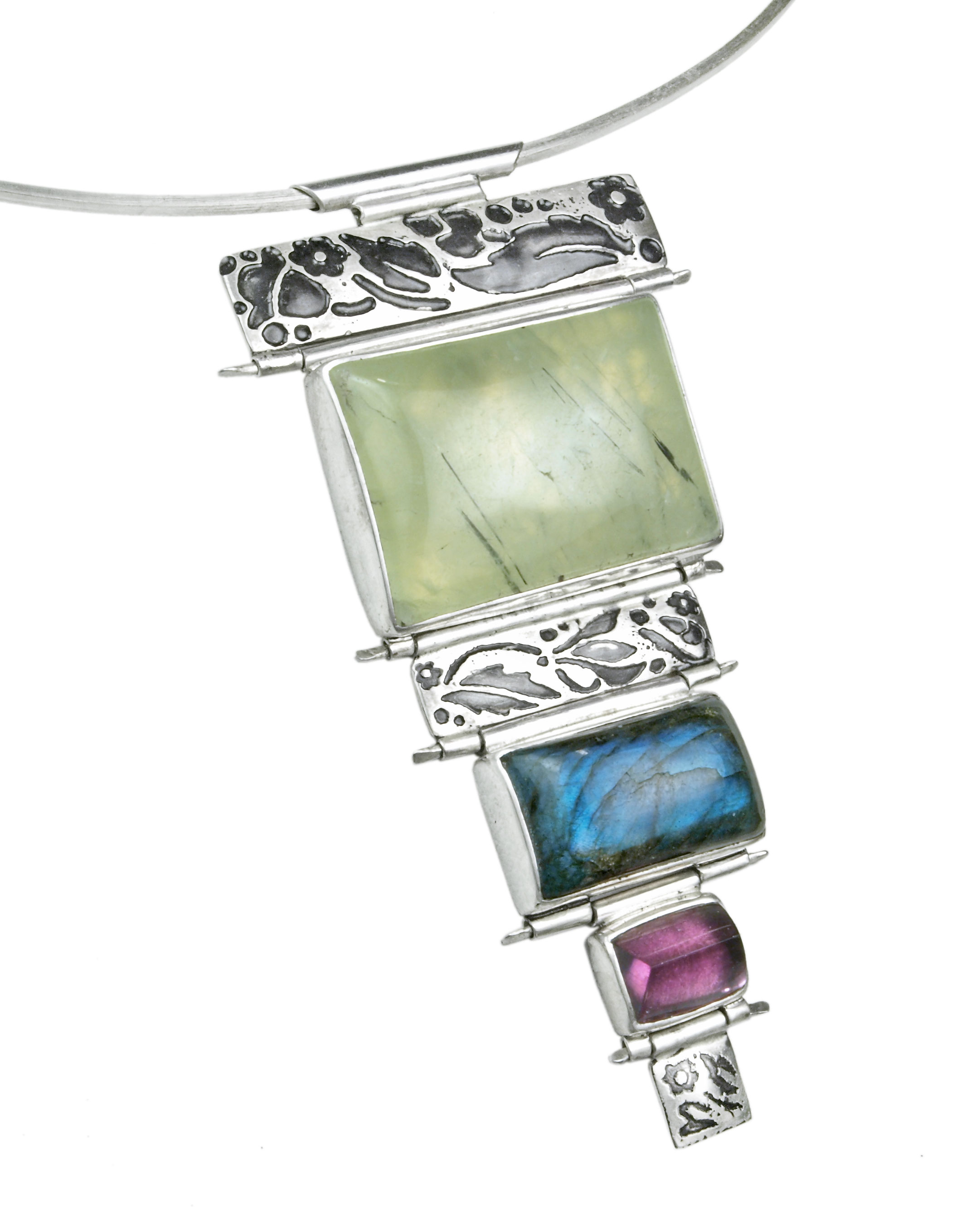 Garden Gate Kaleidoscope Necklace