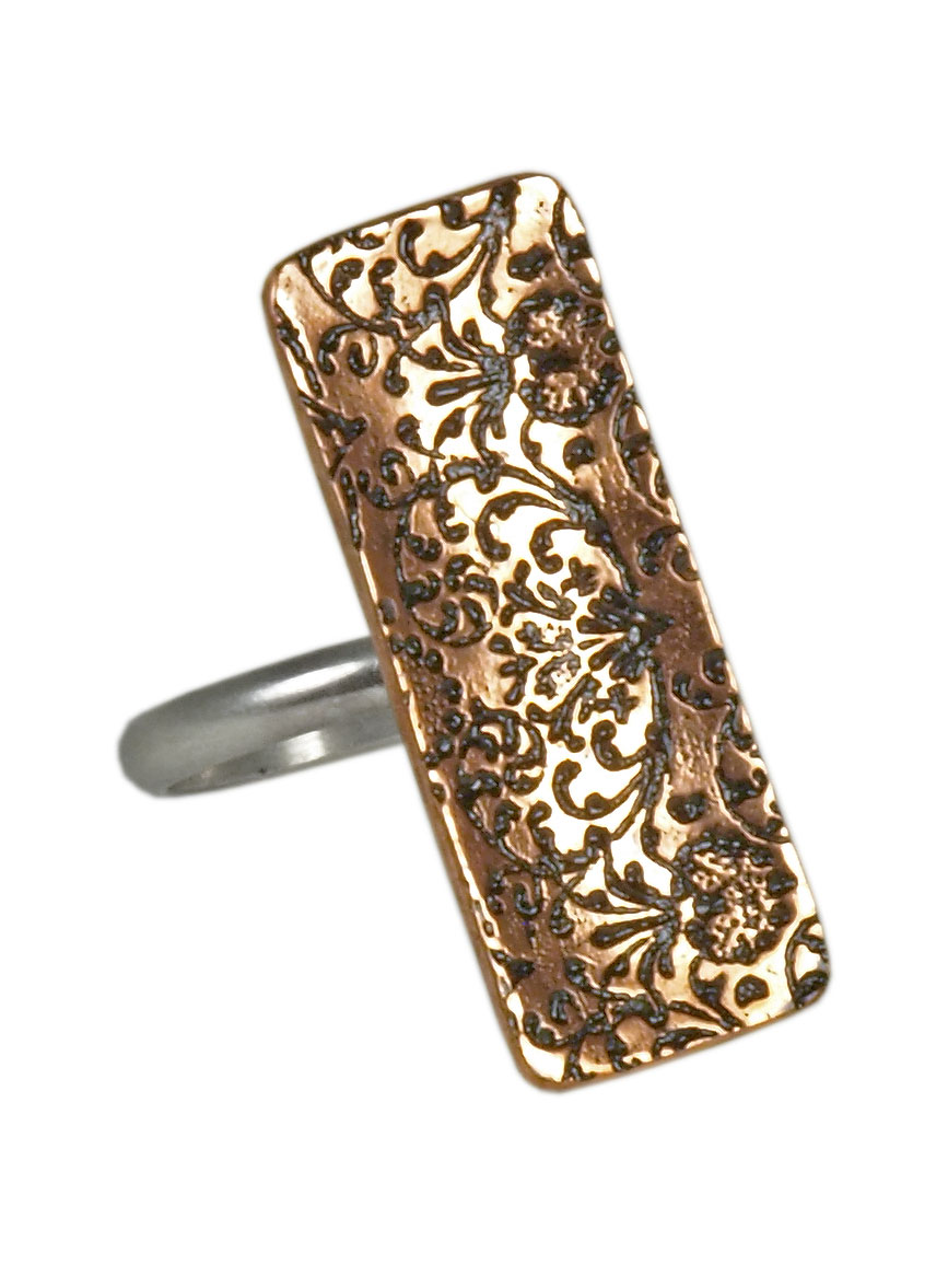 Rectangle Grandeur Ring