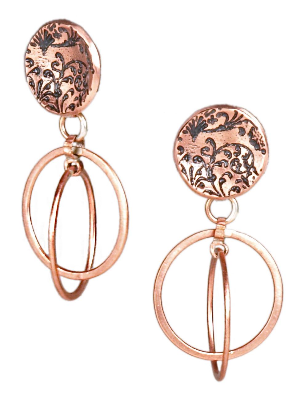 Geodesic Earrings