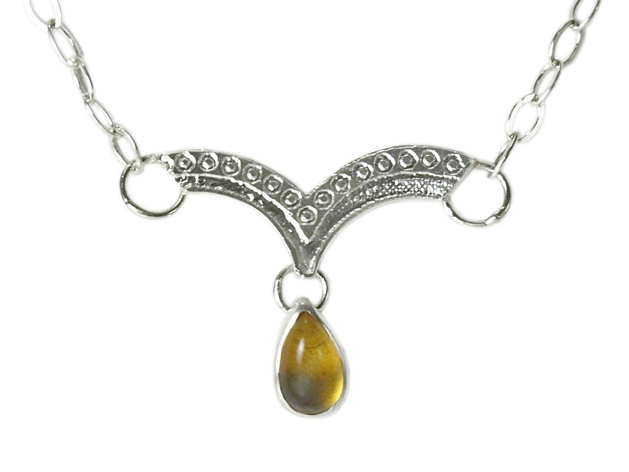 Dew Drop Necklace (Pear)