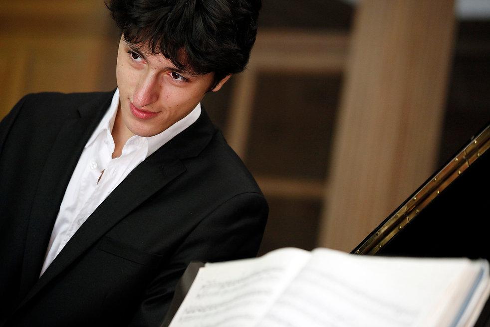 Ismaël Margain piano pianiste