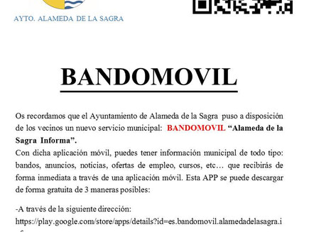BANDOMOVIL - RECORDATORIO