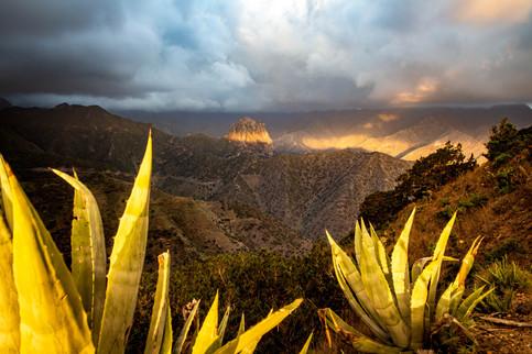 Stunning sunrise Vallehermosso