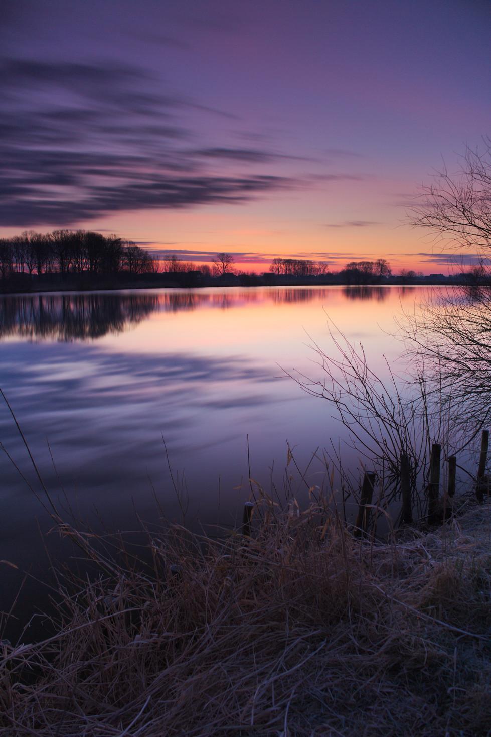 Morgens in Norddeutschland