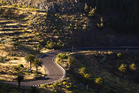 Road to Valle Gran Rey
