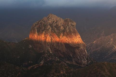 Rock Cano in the dawn