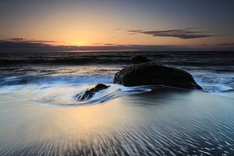 Waves and rocks at Playa des Ingles