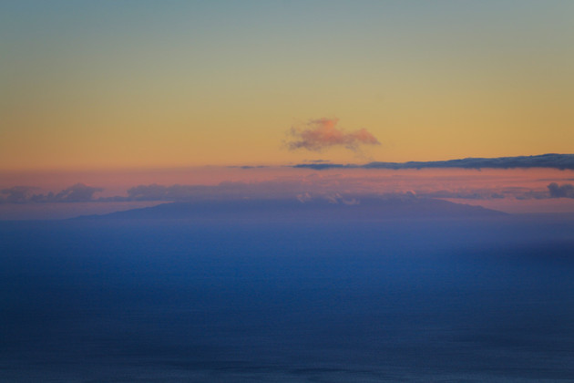 El Hierro in the dawn
