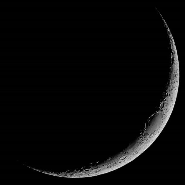 New moon crescente