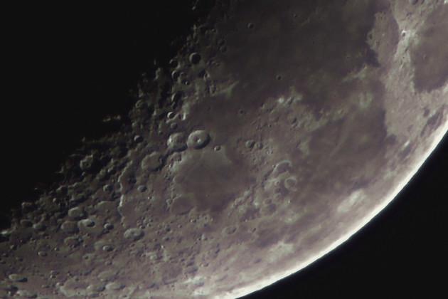 Closeup of the Moon