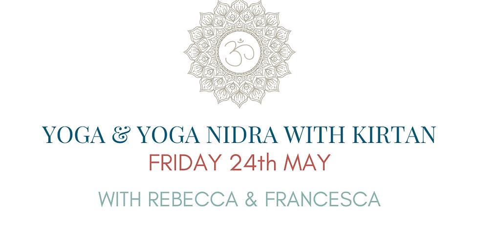 FRIDAY NIGHT RELAXATION Yoga & Yoga Nidra with Kirtan