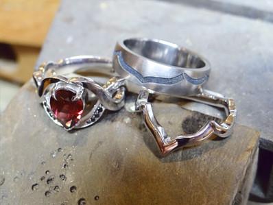 TWJ Custom Wedding and Engagement Rings.