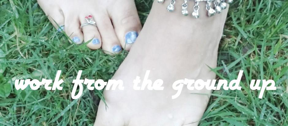 Yogi Feet - work from the ground up