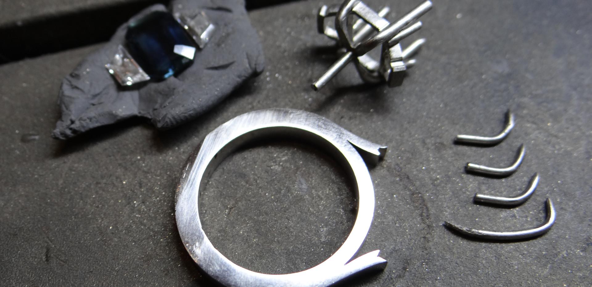 TWJ Bespoke Engagement Ring Commission