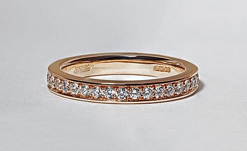 TWJ Custome Wedding Ring. Photography by DanPaton.net