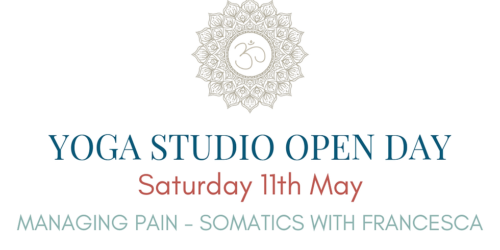 OPEN DAY Somatics with Francesca