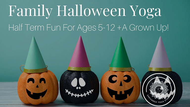 {Special Event} Family Halloween Half Term Yoga