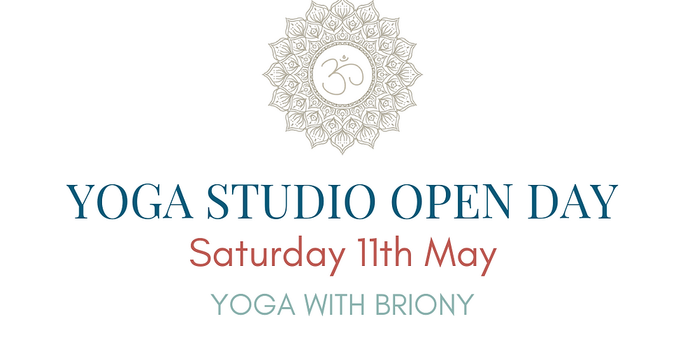 OPEN DAY Yoga with Briony