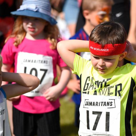 Bracknell Samaritans Teddy Bear Kids Run - jog, run or toddle around our 1k course following our life sized teddy Sam!
