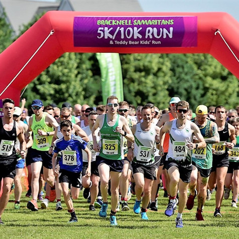 Bracknell Samaritans Run 5k, 10k & Teddy Bear Kids Run. 27th June 2020