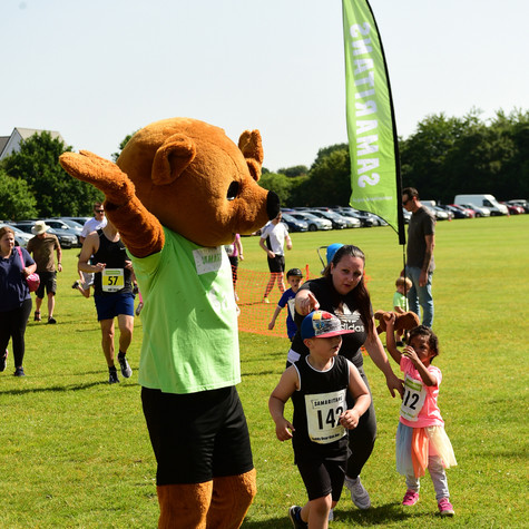 Bracknell Samaritans Teddy Bear Kids Run - a 'real' running race for children up to 8 years-old!