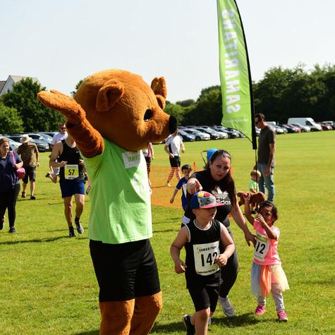 Bracknell Samaritans Teddy Bear Kids Run - a 'real' running race for children up to 8 years-old!