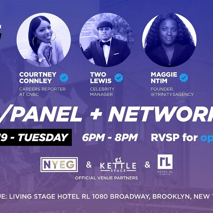 Open Stage Q&A Panel + Networking: Special Guest David Chen
