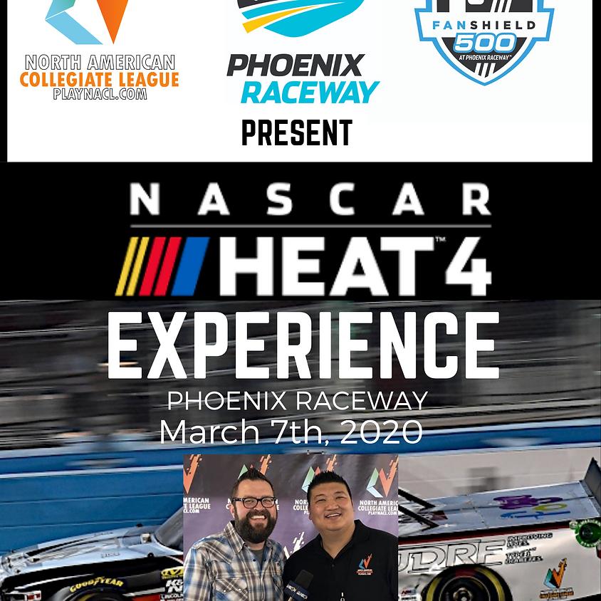 NACL Host 2nd Live NASCAR 4 Event at Phenix Raceway