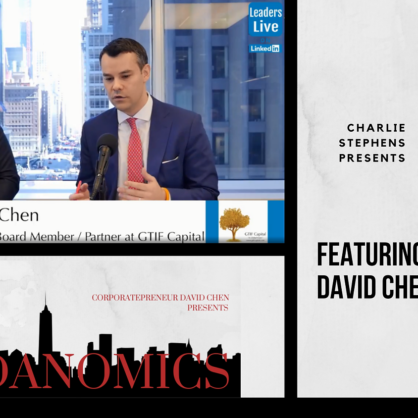 LinkedIn LIVE- David Returns To The Charlie Stevens Show