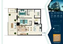 2 Dormitorios Tipo E