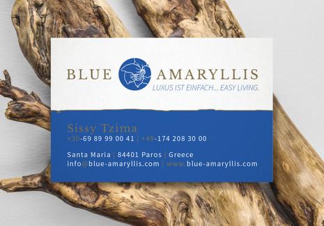 Blue Amaryllis