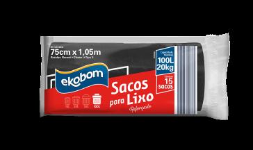 Saco de lixo Ekobom  30L