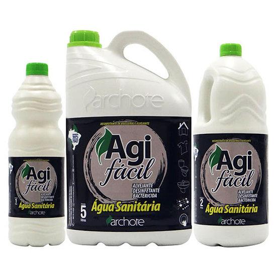 Água Sanitária AGI FÁCIL lT | 2lT | 5LT