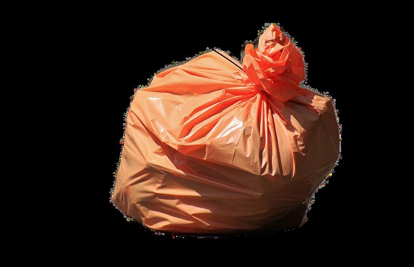 Kit Com 100 Sacos Para Lixo Colorido De 20 Litros Nobre