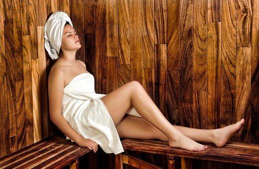 Mulheres, Sauna, Spa, Bem Estar, Modelo