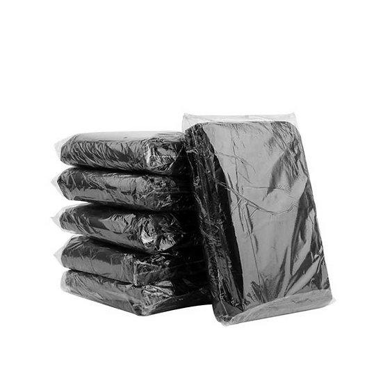 Saco de Lixo Preto100 a 500 Litros pct com 100 peças