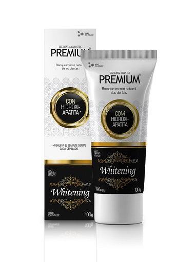Gel Dental Premium Whitening com Carvão Ativado 100g